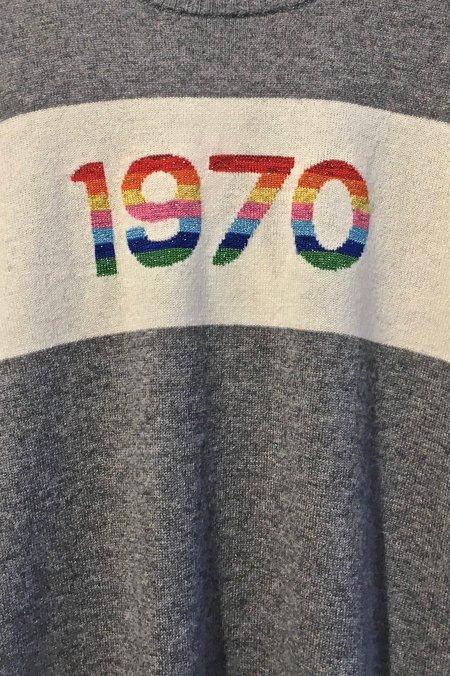 Bella Freud 1970 Rainbow Cashmere Sweater