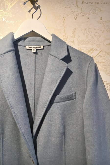 Elizabeth and James Russell Long Classic Coat