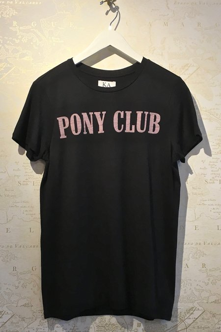 Zoe Karssen Loose Fit Pony Club Tee