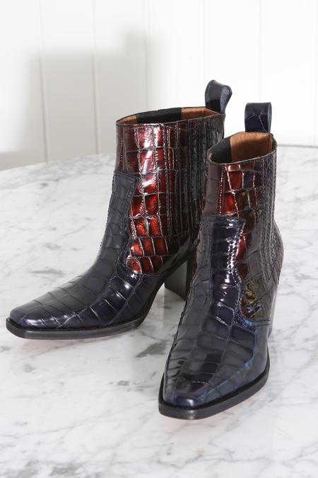 Ganni Callie Boots - Ganache