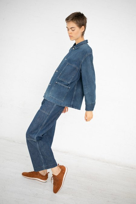 Chimala Denim Railroad Jacket - Medium Distress