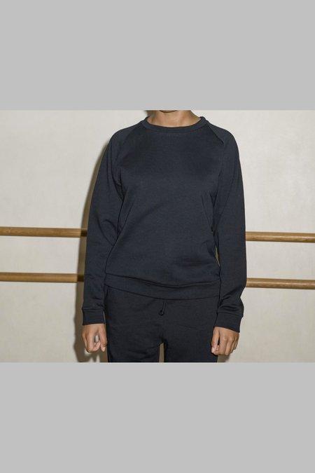 Baserange Basic Sweat Jumper - Black