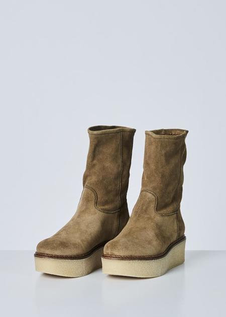 Flamingos Cheyenne Platform Boot - Antilope Tan