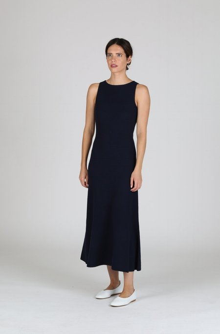 Creatures of Comfort Layered Dress - Navy