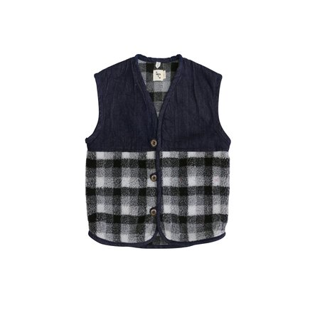 KIDS nico nico Kurt Vest - DARK DENIM
