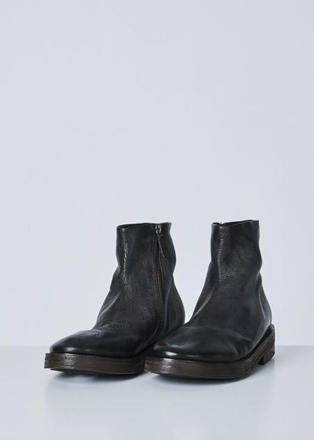 Marsèll Listone Side Zip Boot - Black
