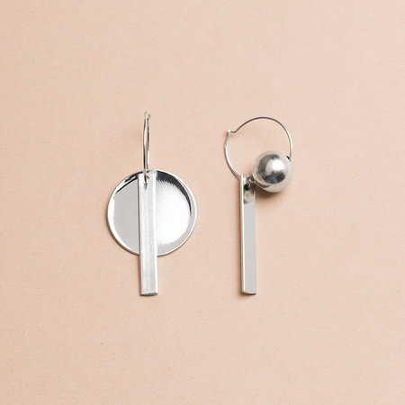 HIGHLOW JEWELRY Reconstruct Earrings - Composition 1