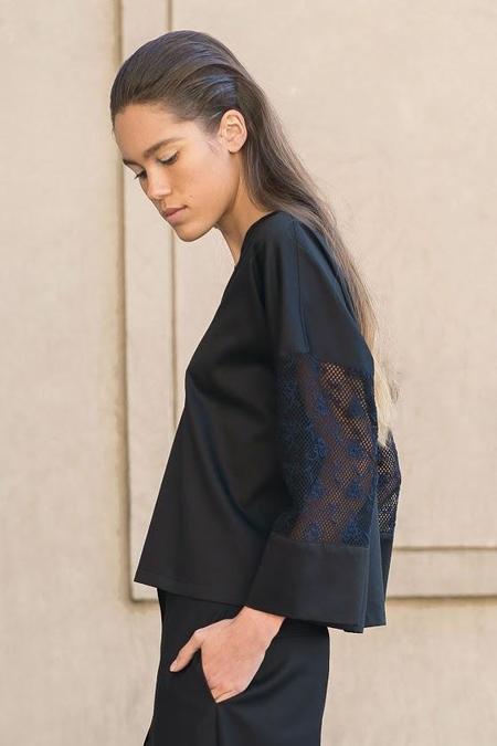 A.Oei Studio Kimono Top
