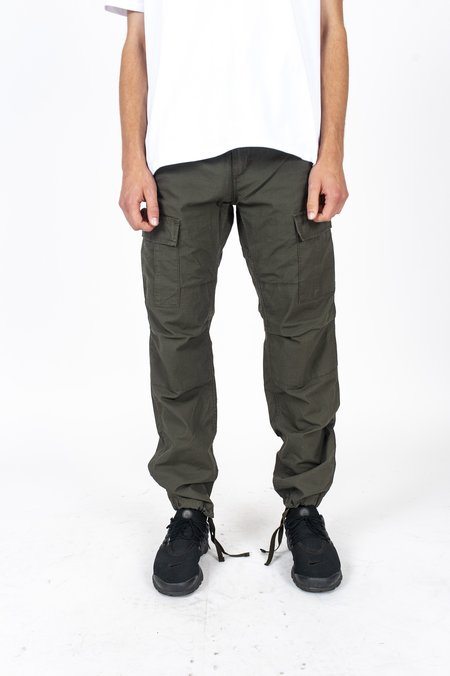 CARHARTT WIP Aviation Pant - Cypress Rinsed