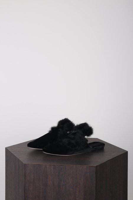 Sanayi313 Contessa Slippers Fur