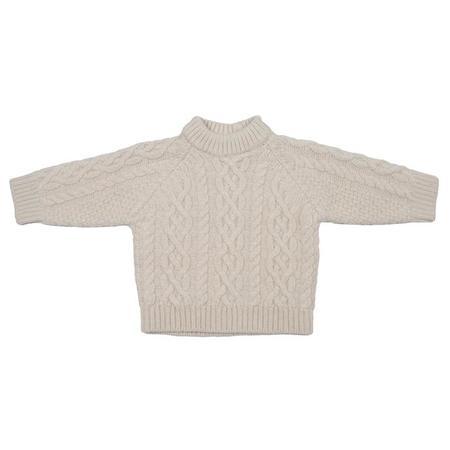KIDS Tambere Child Chunky Knit Sweater - Cream