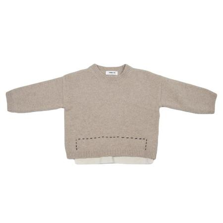 KIDS Tambere Sweater - Mocha Brown
