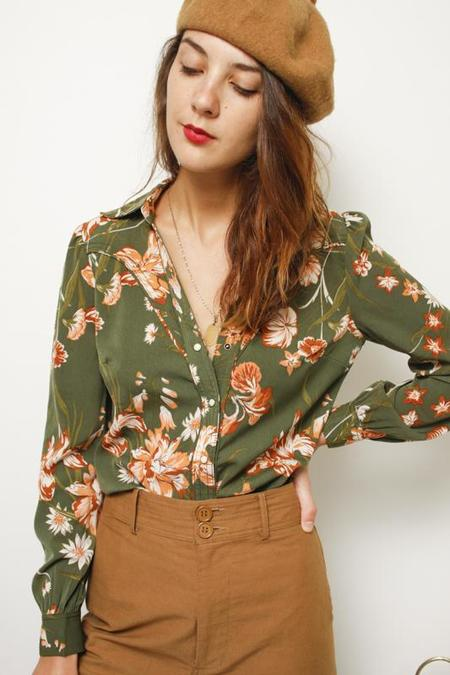 Current Air In Bloom Western Blouse - Floral