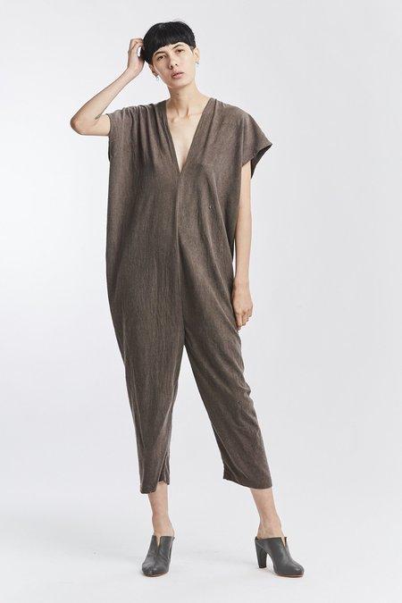 6619581092f6 ... Miranda Bennett Silk Noil Everyday Jumpsuit - Odessa