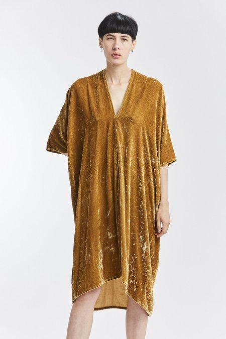 Miranda Bennett Velvet Muse Dress - Tangier