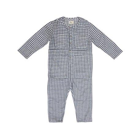 KIDS nico nico Atticus Jumpsuit - Grey Check
