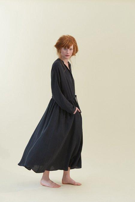 Black Crane Classy Dress - DARK GREEN