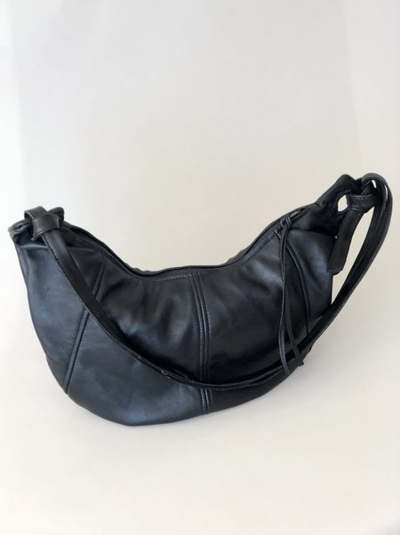 Erin Templeton Large Hobo Recycled Leather Bag - Black
