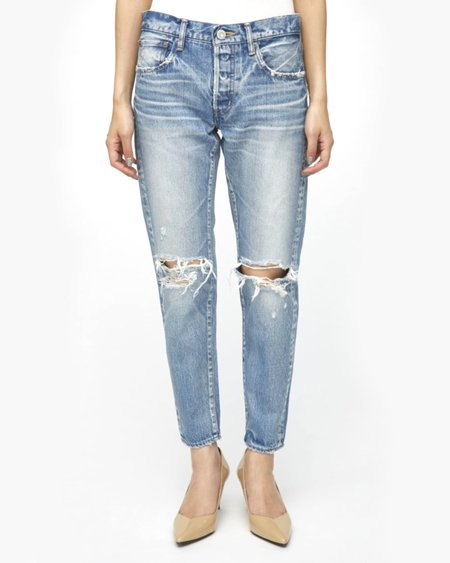 Moussy Latrobe Tapered Jeans - Light Blue