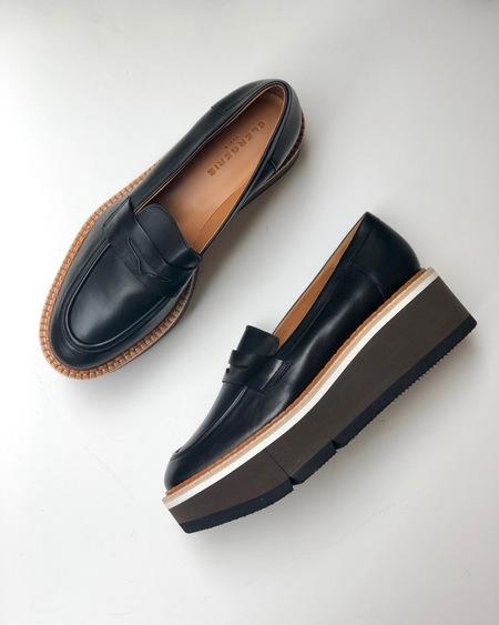 Clergerie Benedict Platform Loafers - Black