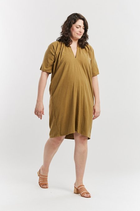 Miranda Bennett Silk Noil Muse Dress - Glasgow