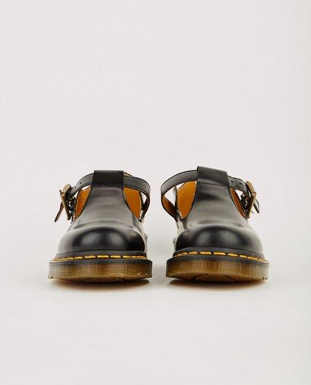 Dr. Martens POLLEY T BAR SMOOTH - BLACK
