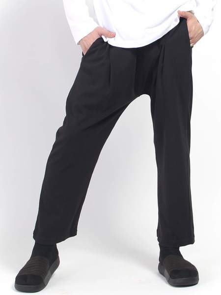 Willy Chavarria Buffalo Pant - Pirate Black