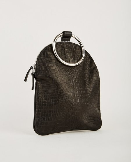 Otaat Myers Collective LARGE RING POUCH - BLACK CROC