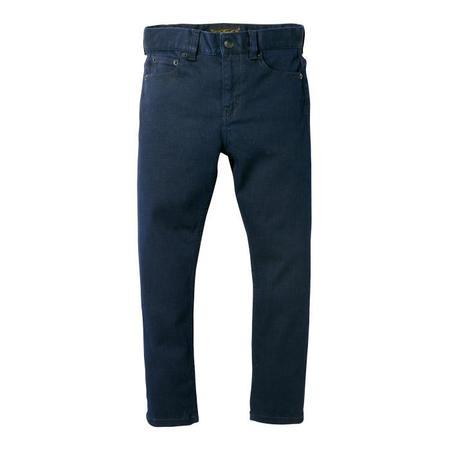 KIDS Finger In The Nose Child Ewan Pants Woven 5 Pocket Comfort Fit Jeans - Deep Blue Denim