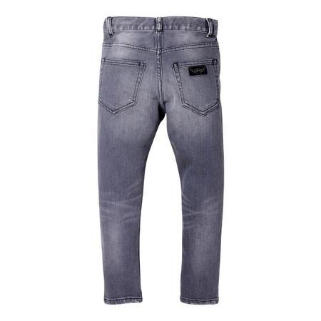 KIDS Finger In The Nose Child Ewan Pants Woven 5 Pocket Comfort Fit Jeans - Grey Denim