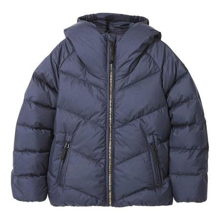 KIDS Finger In The Nose Child Snowdance Down Winter Jacket - Navy