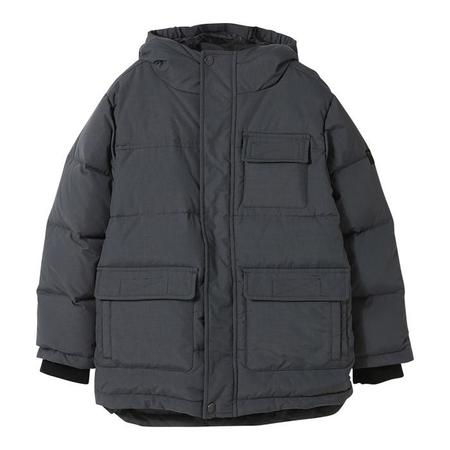 KIDS Finger In The Nose Child Snowtown Down Winter Jacket - Ash Black