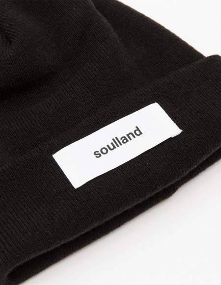 Soulland Villy Beanie - Black