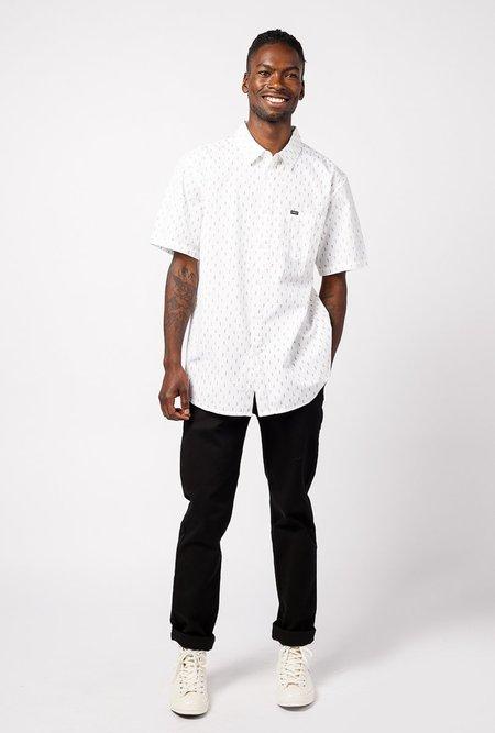 Obey Screw SHORT SLEEVE Shirt - WHITE