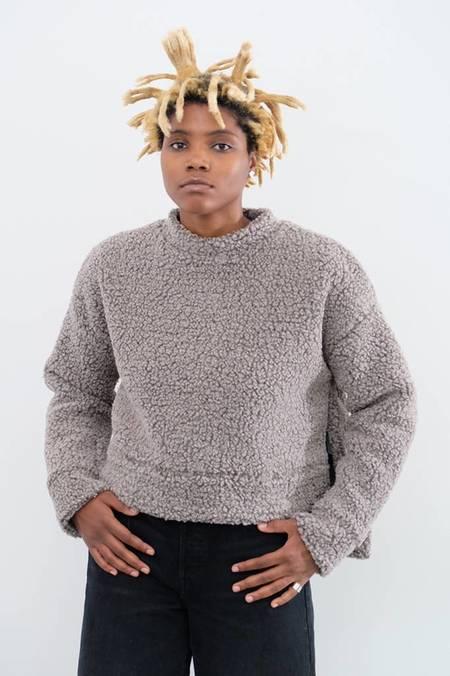 Priory Bruna Teddy Bear Sweater - Heather Grey