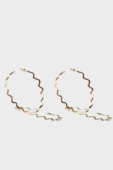 Odette New York Ric Rac Earrings