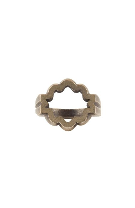 M. Cohen Equinox Ring - Sterling Silver