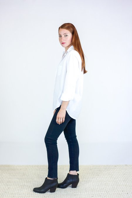 Frank & Eileen Eileen Button Down Shirt - White