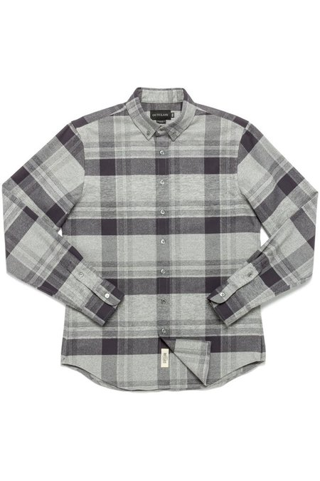 Outclass Check Flannel Shirt - Heather Grey