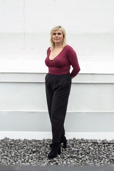 Eve Gravel Forgotten Pants - Black