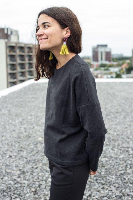 Valérie Dumaine Dag Sweatshirt - Washed Black