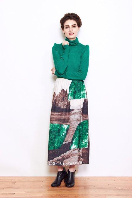 A Détacher Carly Turtleneck Top - Emerald