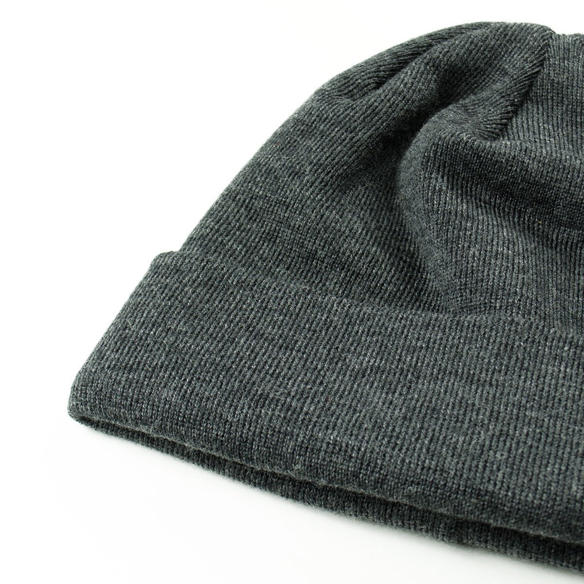 e54a6bed601ea Norse Projects Top Beanie - Charcoal Melange