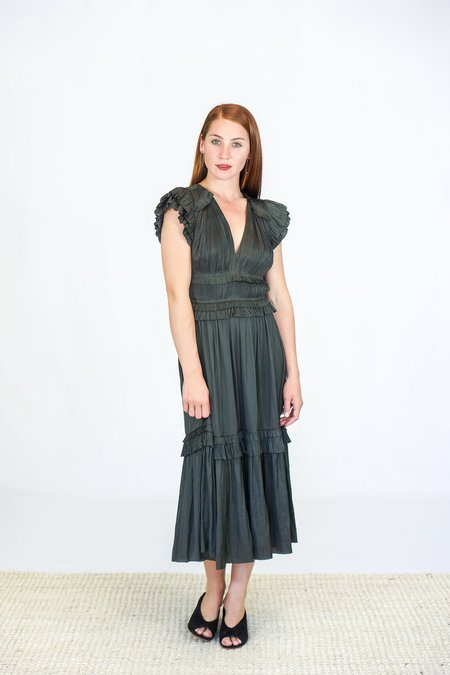 Ulla Johnson Jolee Dress - Peat Green