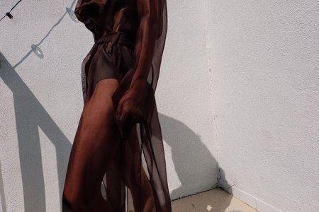 Still Here Indecent Robe 001 - Chocolate
