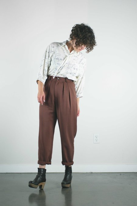 Jennifer Glasgow Lauper Pants - Brown