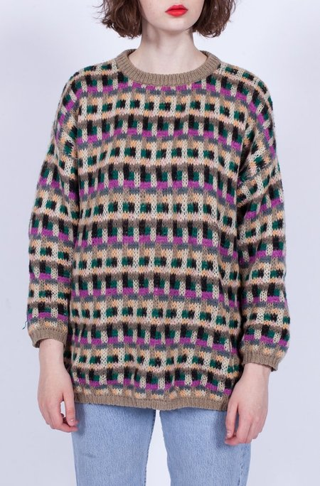 Yo Vintage! Benetton Knitted Sweater