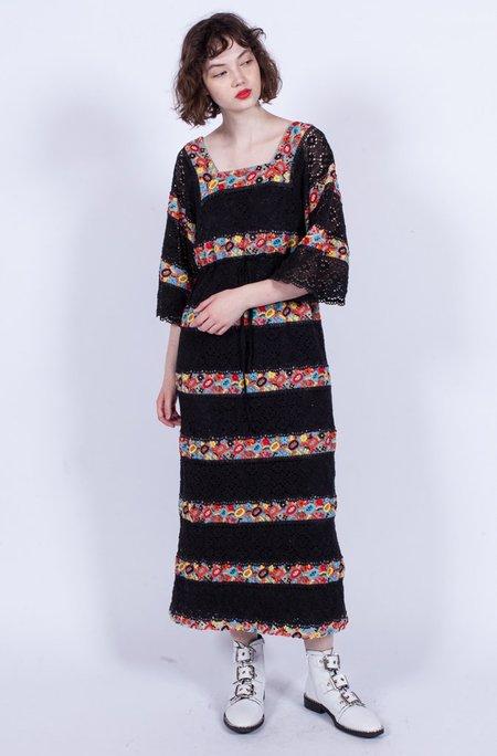 Yo Vintage! Crochet Embroidery Dress