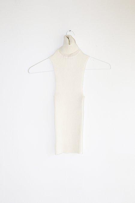 giu giu Nonna Sans Sleeves - Ivory Glitter
