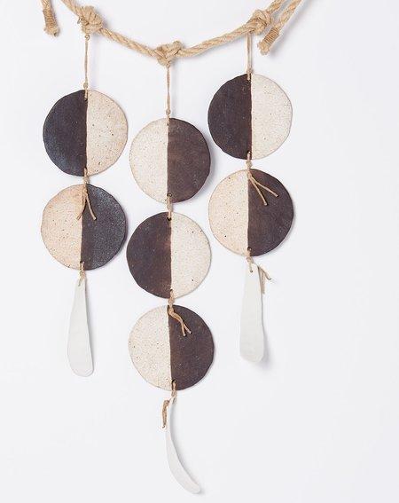 MQuan Studio Three Strand Hanging Discs - Black/White